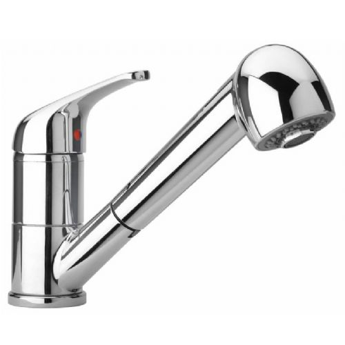 Paini Creta Single Lever Pull Out Kitchen Mixer Tap